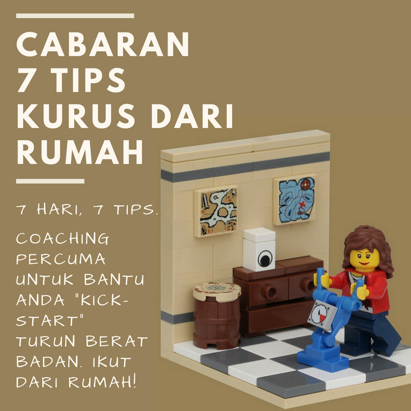 Intro: Cabaran 7 Tips Kurus Dari Rumah